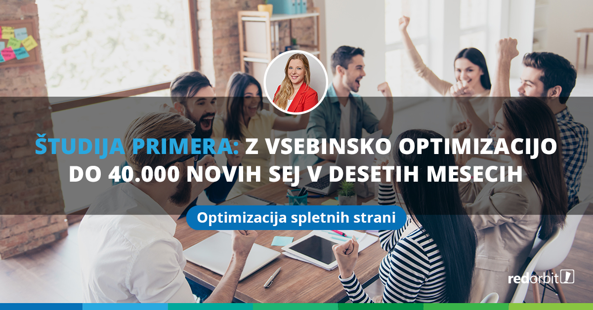 Blog o optimizaciji spletne strani za Vzajemno.si
