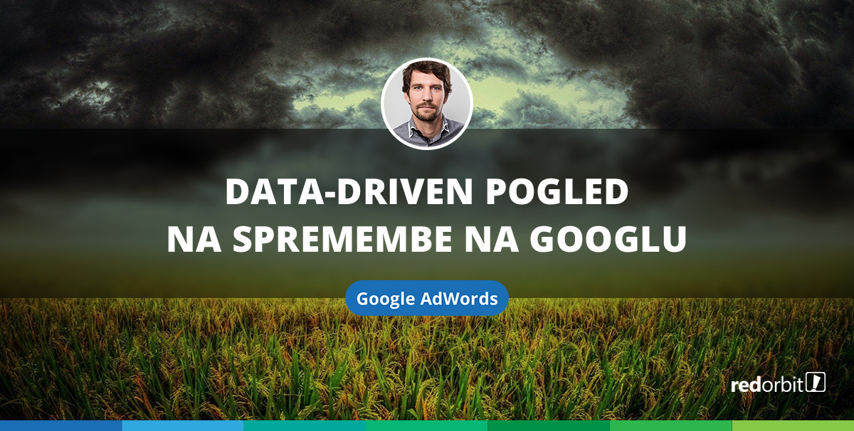 Data-driven pogled na spremembe na Googlu