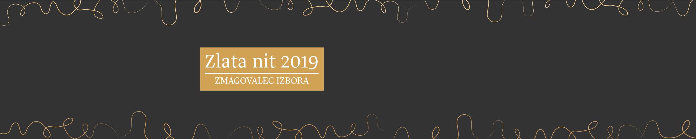 Zmagovalec Zlata nit 2019