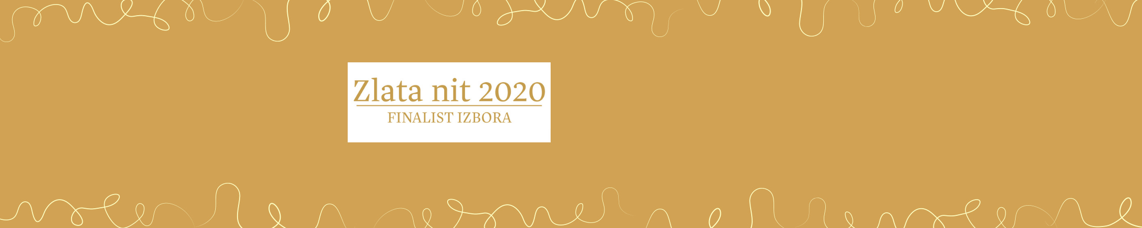 FInalisti Zlate niti 2020