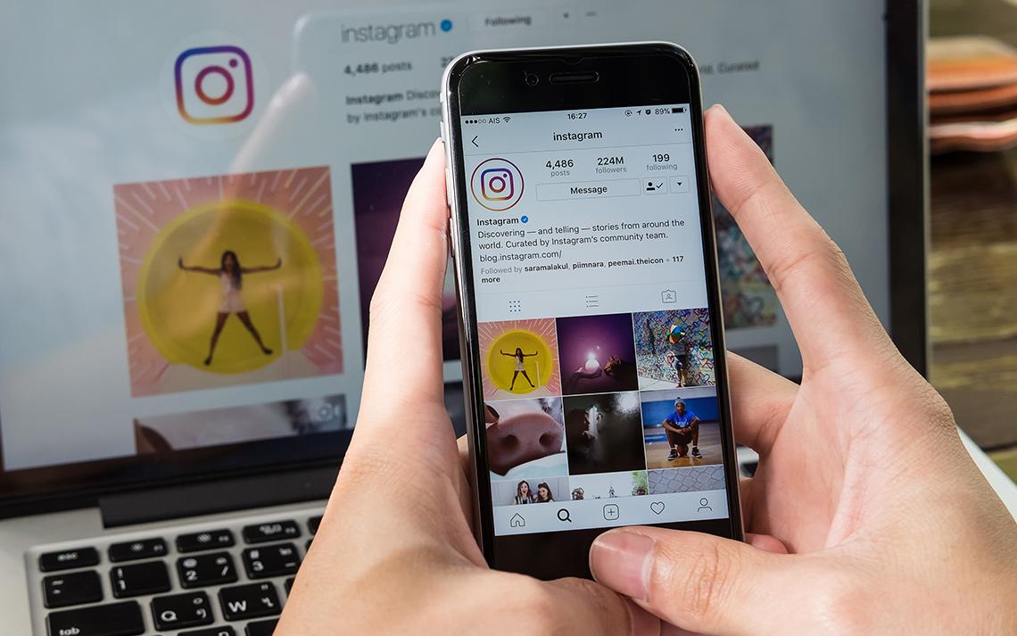 Seminar Instagram oglaševanja